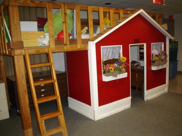 diy playhouse ladder