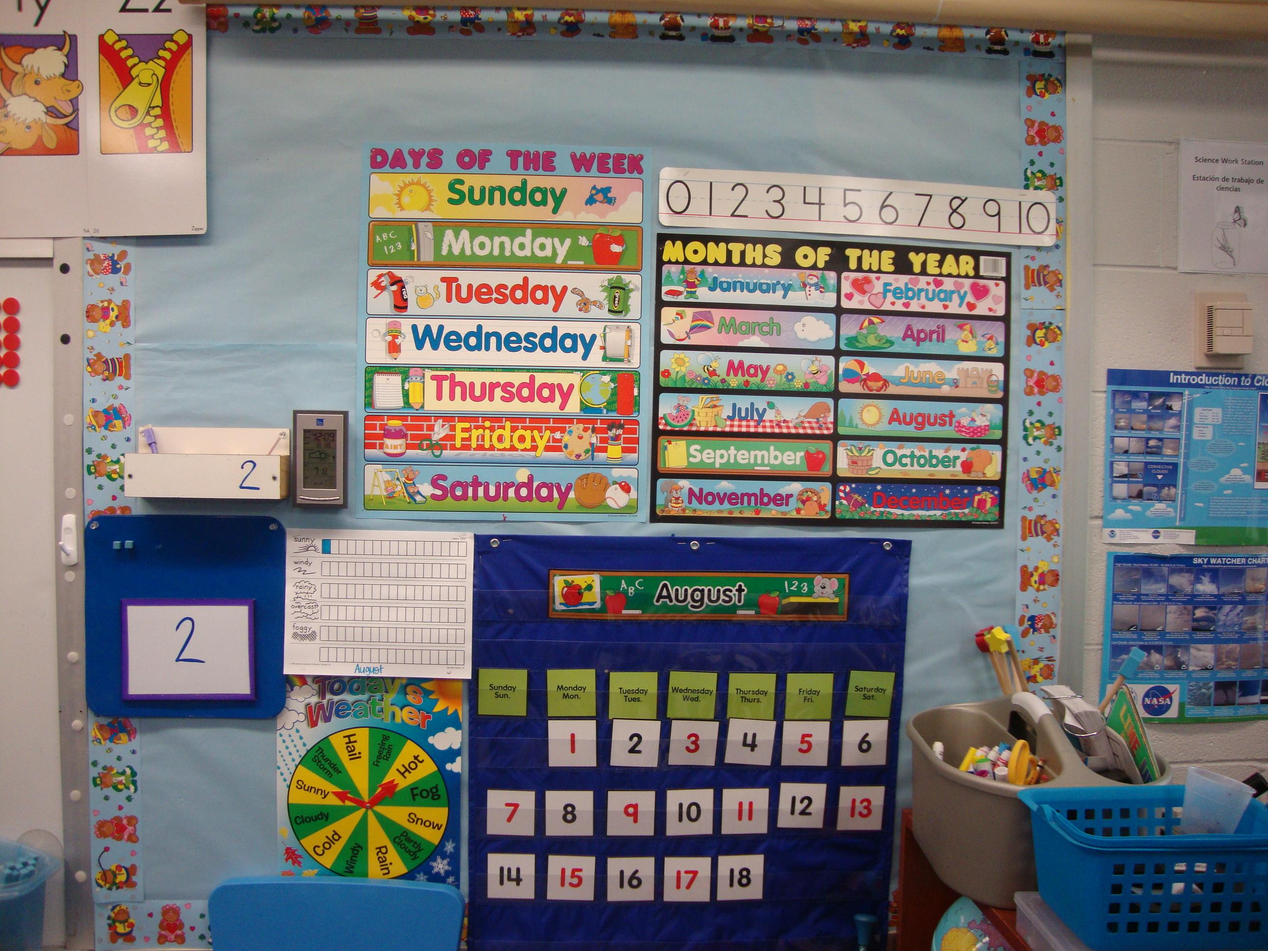 Calendar Design For Kindergarten : Calendar kristen s kindergarten
