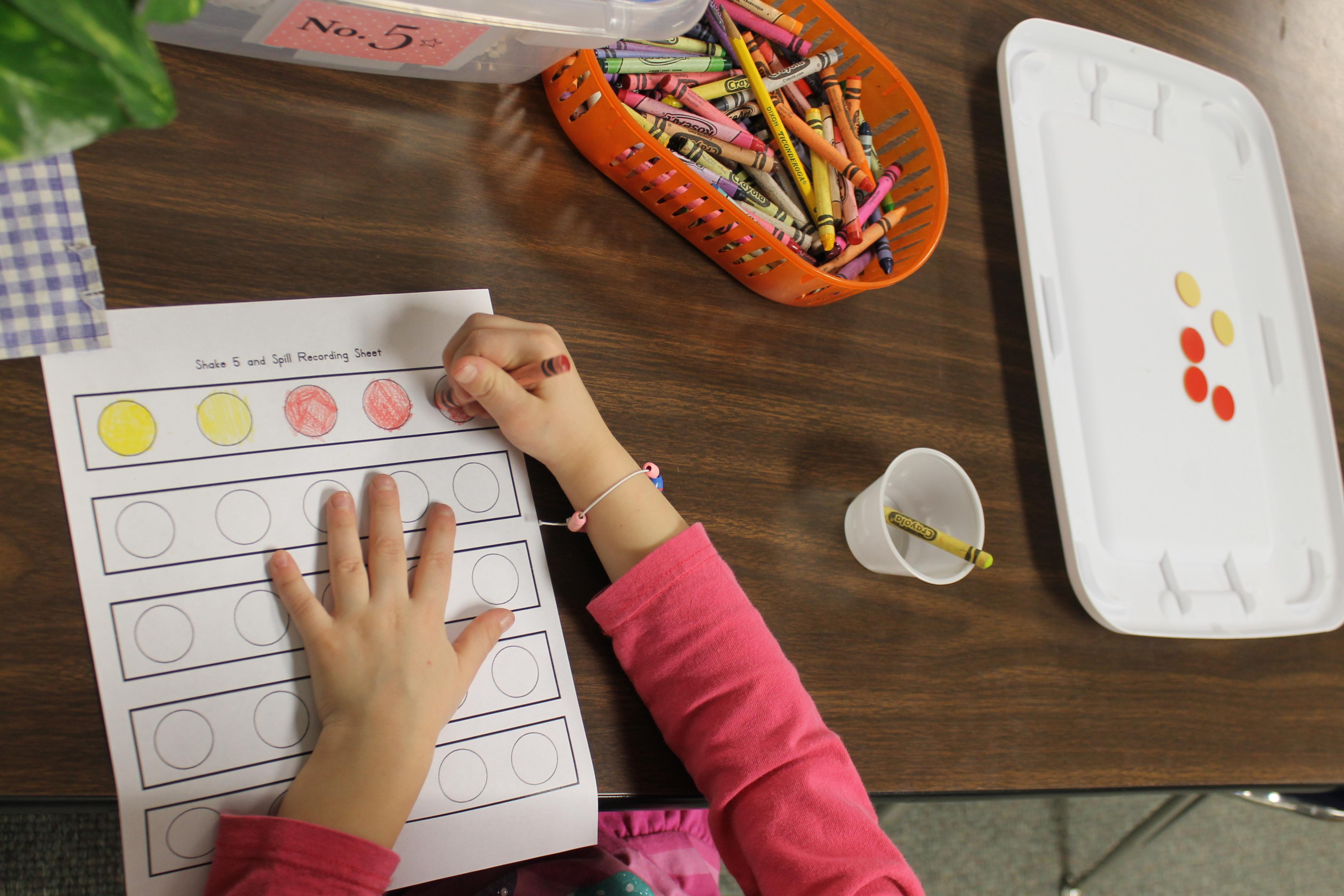 New Math Work Stations | Kristen\'s Kindergarten