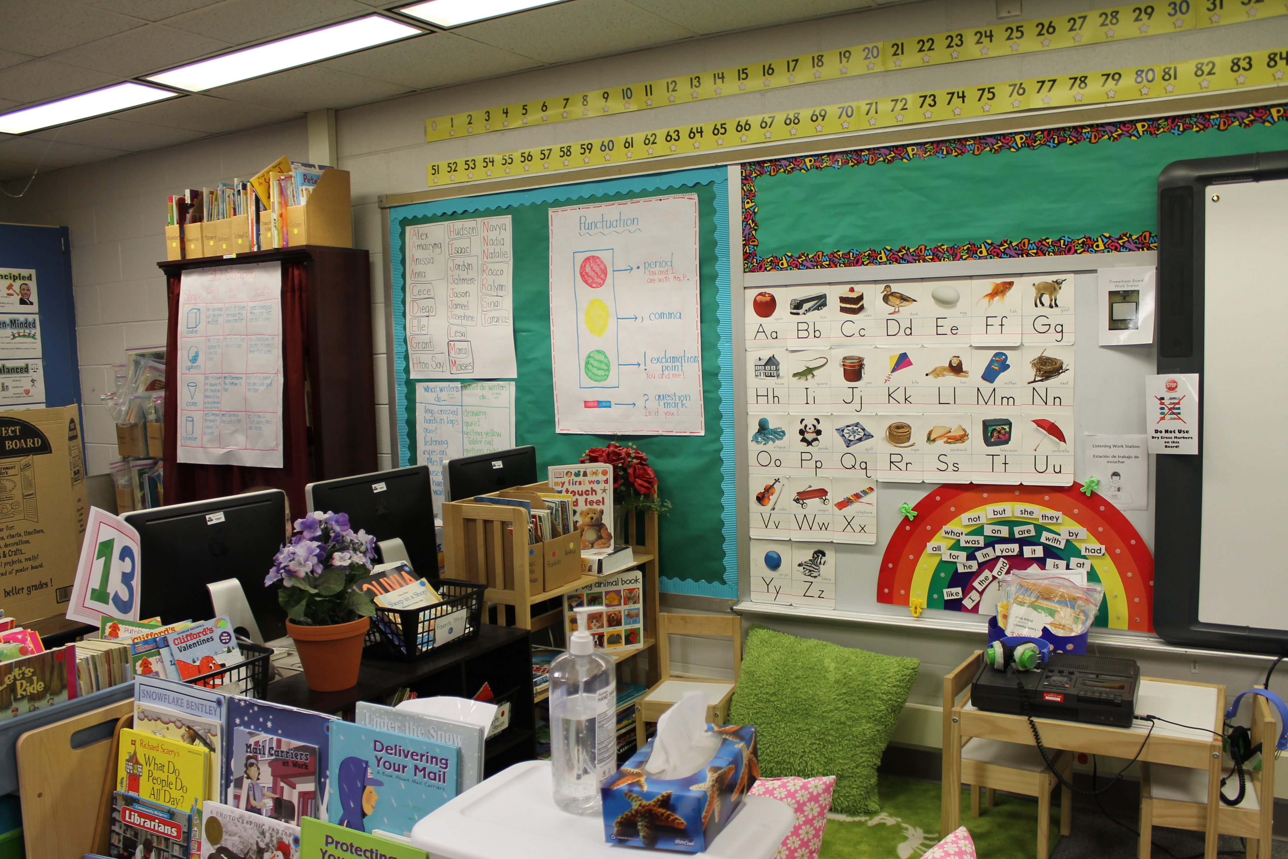 Kindergarten Calendar For Promethean Board : Classroom pictures kristen s kindergarten