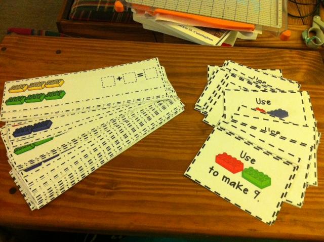 Decomposing Numbers Kristen S Kindergarten