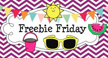 Freebie Friday | Kristen's Kindergarten
