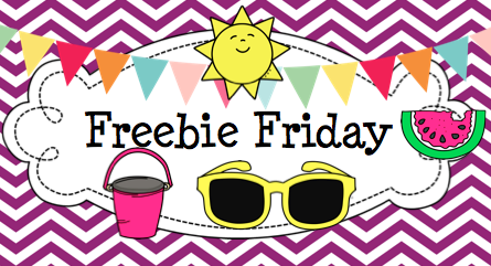 Freebie Friday Banner