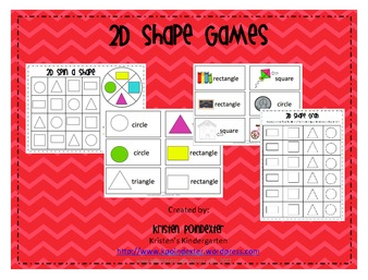 2D Shape Games