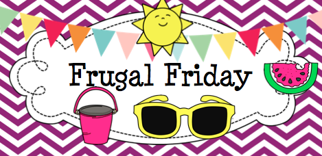 Frugal Friday | Kristen's Kindergarten