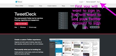 Tweet Deck 1