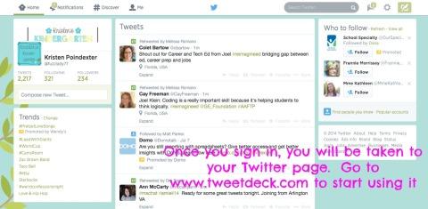 Tweet Deck 2