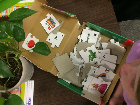 Kristen's Kindergarten Literacy Work Stations