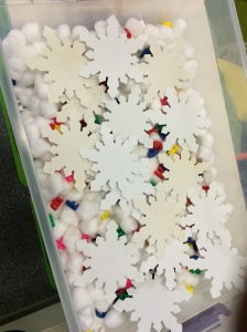 Literacy Work January Sensory Bin