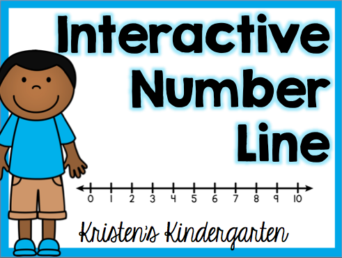 Interactive number line kristen 39 s kindergarten for Floor number line