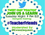 #TeacherFriends Chat