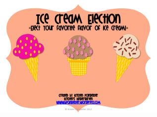 Kristen's Ice Cream Election Pack