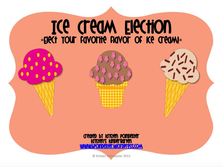 Kinder Garden: Kristen's Ice Cream Election Pack
