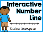 Kristen's Interactive Number Line cover