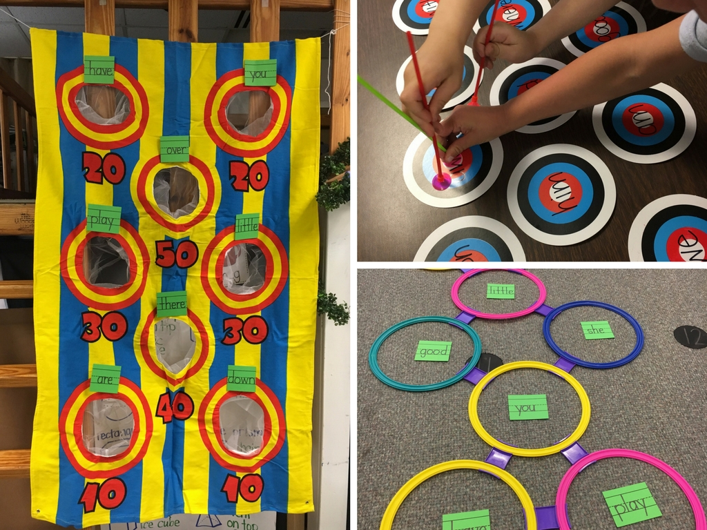 Hands-On Sight Word Practice
